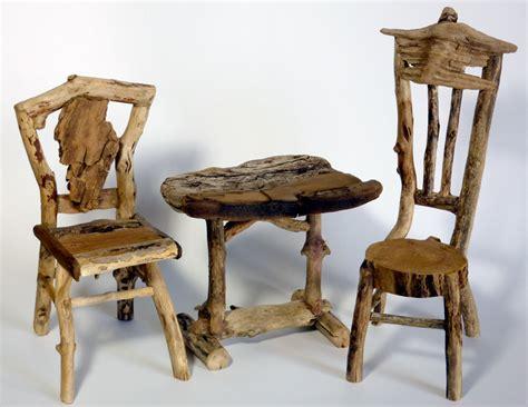 miniature rustic twig furniture by george clark