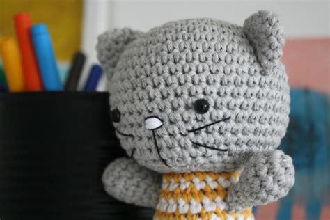 amigurumi kitty pattern free small cat with joined legs lilleliis