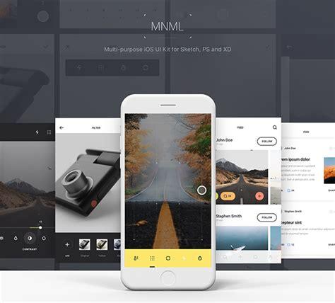 smart home app design kit for sketch freebiesui mnml free app design ui kit free psd sketch and xd