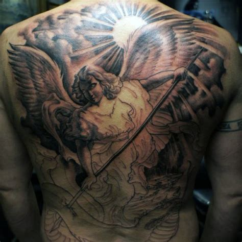 guardian tattoo full body 60 best angel tattoos on back