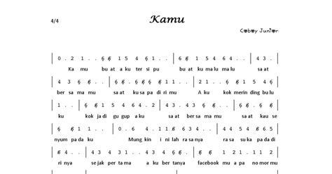 not angka pianika buku harian not angka dalam bentuk software pdf part 1 aulia s