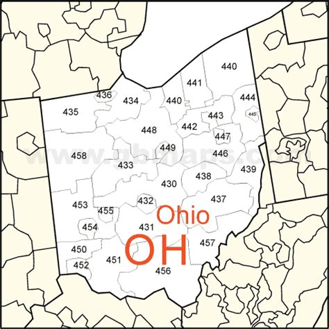 ohio zip code map columbus oh zip code map afputra