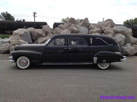 1948 Cadillac For Sale by 1948 Cadillac A J Miller Landau Hearse Hearse For Sale