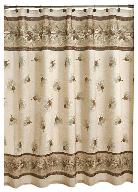 Shower Curtains Rustic Saturday Pinehaven Shower Curtain Rustic Shower Curtains By Saturday Limited