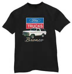 ford bronco truck trucks design mens black shirt tshirt