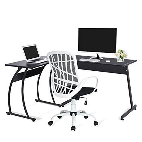 hton l shape computer desk green forest l shape corner computer office desk pc laptop