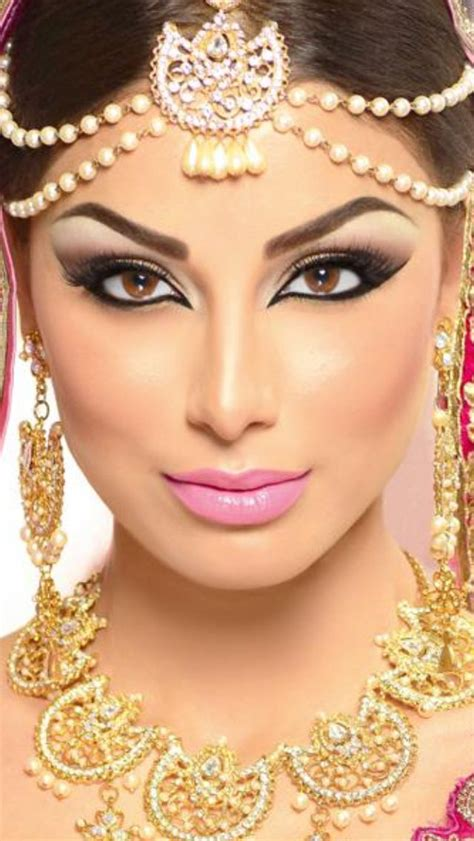 download wedding hair and makeup dubai hairstyles ideas me arabic bridal party wear makeup tutorial ideas step by