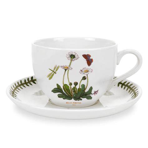 Portmeirion Botanic Garden Cups Portmeirion Botanic Garden Jumbo Cup And Saucer Portmeirion Uk