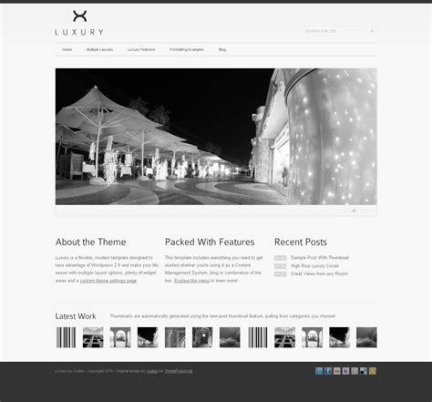 wordpress themes free luxury luxury wordpress template by cudazi themeforest
