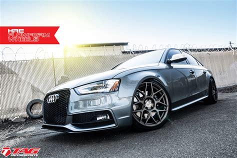 Audi S4 Aftermarket by Audi S4 Custom Wheels Hre Flowform Ff01 19x Et Tire