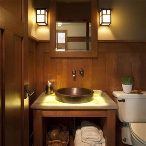 Craftsman Style Bathroom Lighting Craftsman Style Bathroom Bathroom Ideas