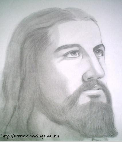 jesucristo imagenes a lapiz dibujos a lapiz de jesucristo imagui