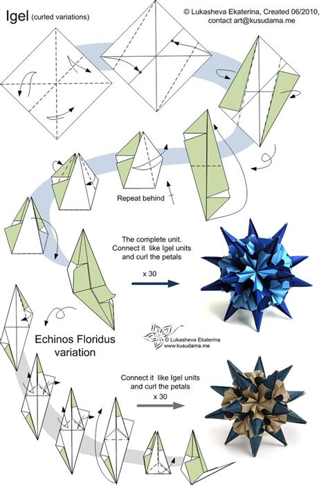Origami Ideas And - origami best modular origami ideas only on origami paper