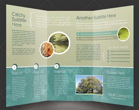 professional brochure templates free 15 ideas to make your brochure better than everyone else s