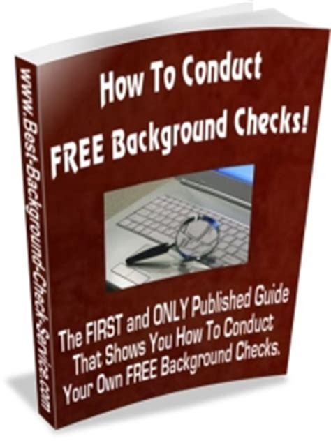 Best Background Check Service Free Free Background Check Ebook