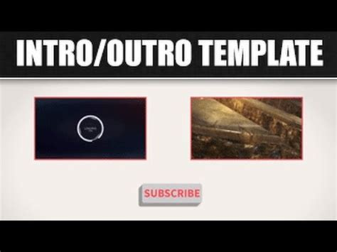 after effects free template outro free 2d intro 20 free after effects intro outro