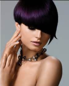 violet black hair color bold hair color ideas 2011