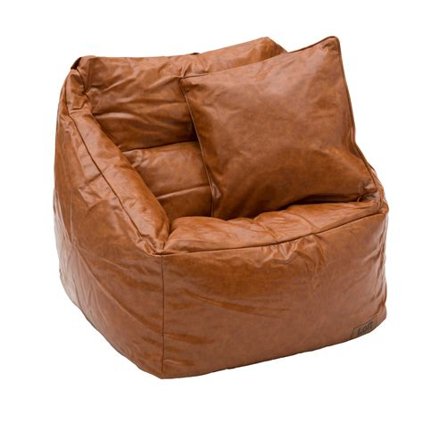 cuscini ecopelle cuscino in ecopelle marrone