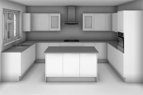 u shaped kitchen with island what kitchen designs layouts are there diy kitchens