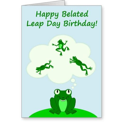 leap year birthday card template leap day quotes quotesgram