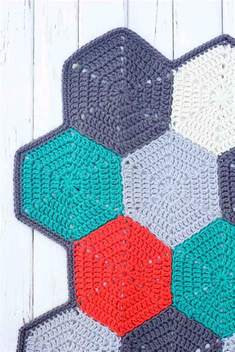 Crochet Patterns Crochet Blanket Pattern Tutorial crochet afghan blanket hexagon pattern free crochet tutorial