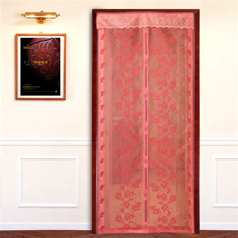 magnetic door curtains magnetic screen door curtain furniture ideas
