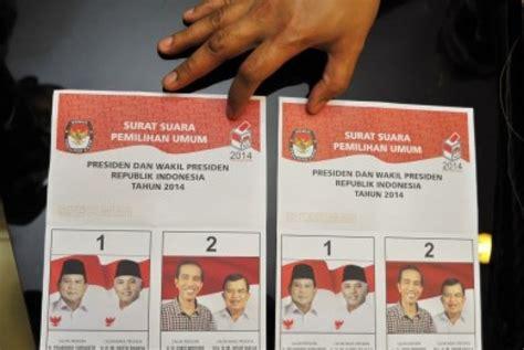 kpu 75 persen surat suara selesai dicetak republika