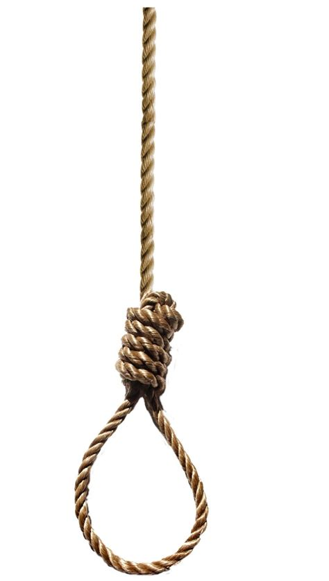 Hanging With by Isaac S Noose Used To Hang Convicted By