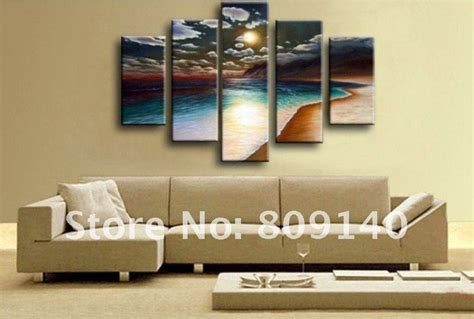 wall ideas design sea scenery home office wall