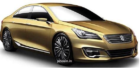 Suzuki Price In India Maruti Suzuki Ciaz Price In India Review Specifications