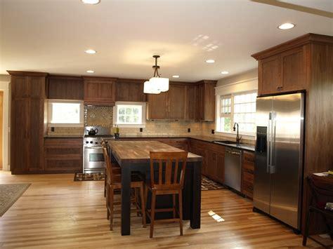 dark kitchen cabinets with light floors dark cabinet light wood floor kitchen ideas pinterest