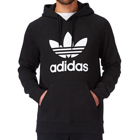 Jaket Hoodie Tgh Black Original sold gt adidas black trefoil hoodie stan smith adidas 2015
