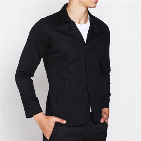 Jas Formal Pria jas blazer semi formal pria semi jas slimfit katun twill jaket blazer polos korean style