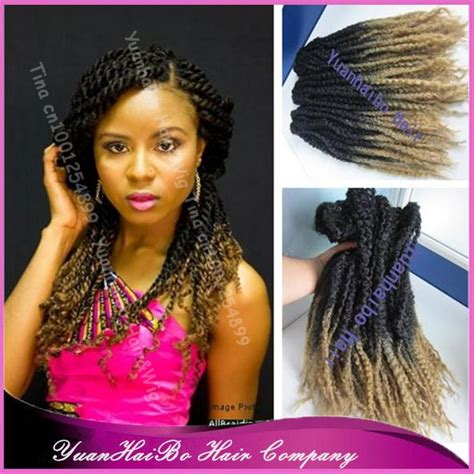 hair ombre kinky twist stock 20 quot fold ombre 1b 27 synthetic kinky twists ombre