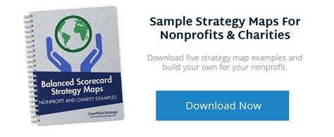 How To Build An Actionable Nonprofit Strategic Plan Template Balanced Scorecard Template For Charities