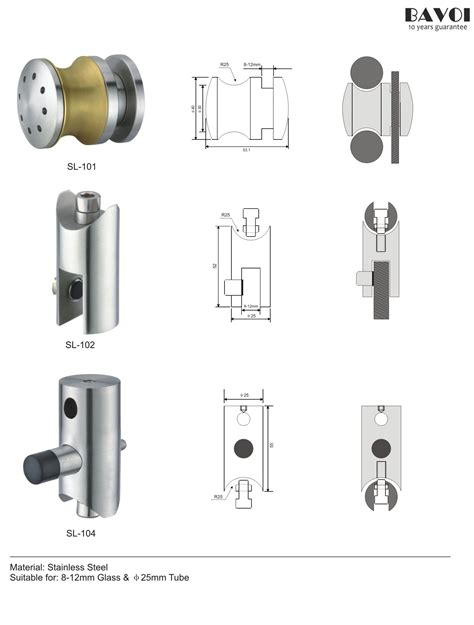 Sliding Shower Doors Parts Wheel Shower Sliding System Rolling Parts Manufacturer Sl 101 Sl 102 Sl 104