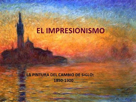 libro la pintura del impresionismo el impresionismo