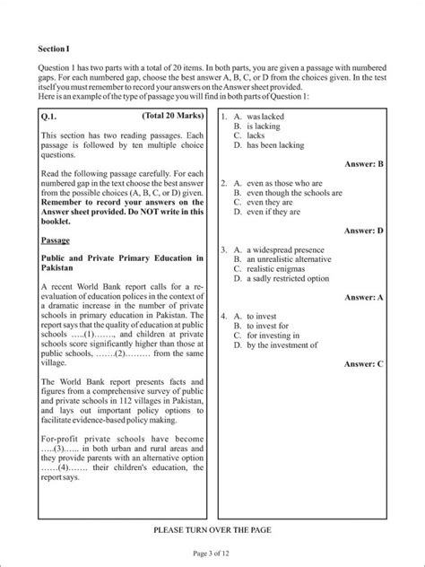entry test entry test paper for aga khan college pakprep