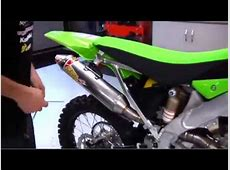 Pro Circuit Installation: Complete Exhaust System ... Kawasaki 250f