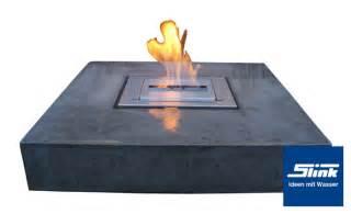 feuerstelle quadratisch gartenbrunnen elemento mit feuerstelle kaufen