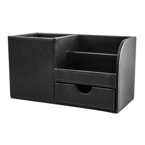 Desk Organizer Leather Popular Faux Leather Desk Organizer Buy Cheap Faux Leather Desk Organizer Lots From China Faux