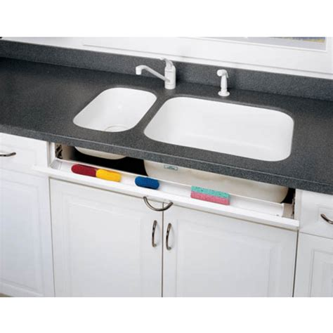 cabinet organizers slim sink front tip out trays for