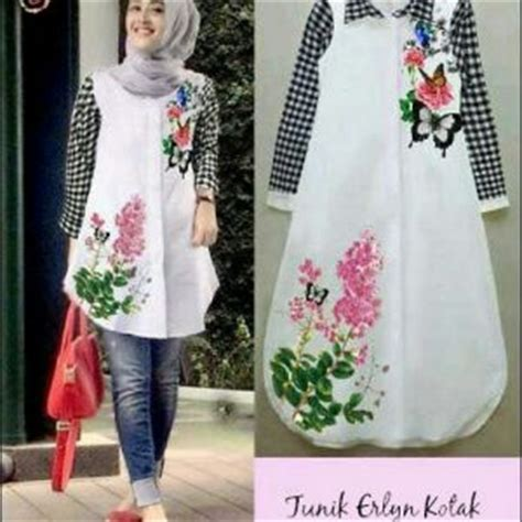 Blouse Fiana Marun Fashion Wanita Baju Atasan Perempuan baju atasan pita wanita cantik model terbaru murah