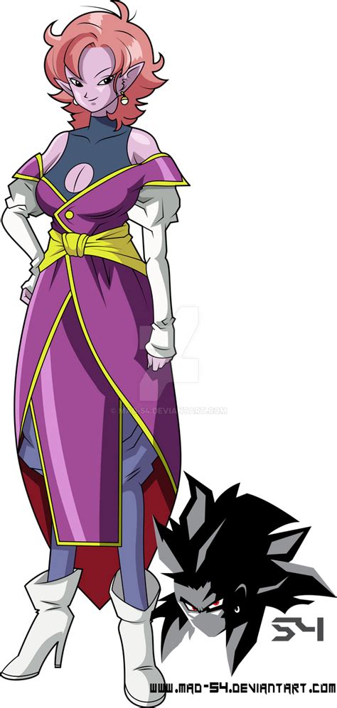 Supreme Kai Of Time Early Design By MAD On DeviantArt