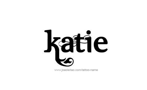 name katie tattoo designs name designs