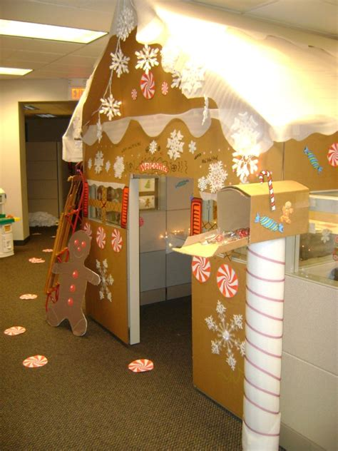 258 best christmas office cubical decorations etc images