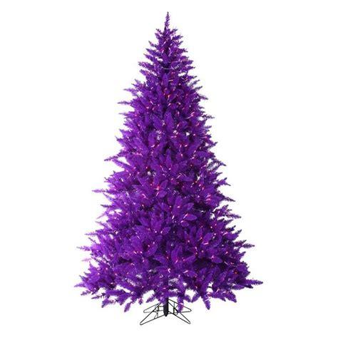 purple christmas tree i love this tree xmas pinterest