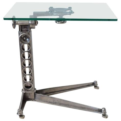 industrial adjustable work table circa 1920 at