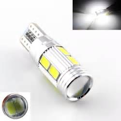 Led Light Bulbs Cars 2x Car Auto Led T10 194 W5w Canbus 10smd 5630 5730 Led Light Bulb No Error Led Parking Fog Light