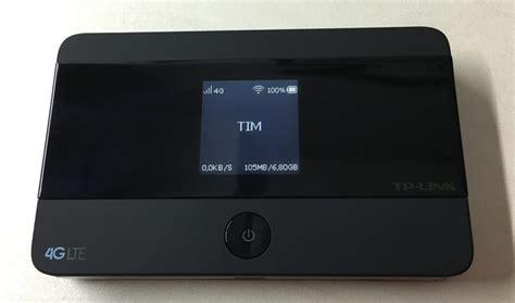 Tp Link Wifi M7350 Diskon recensione router wifi portatile 4g lte tp link m7350 pocket hotspot